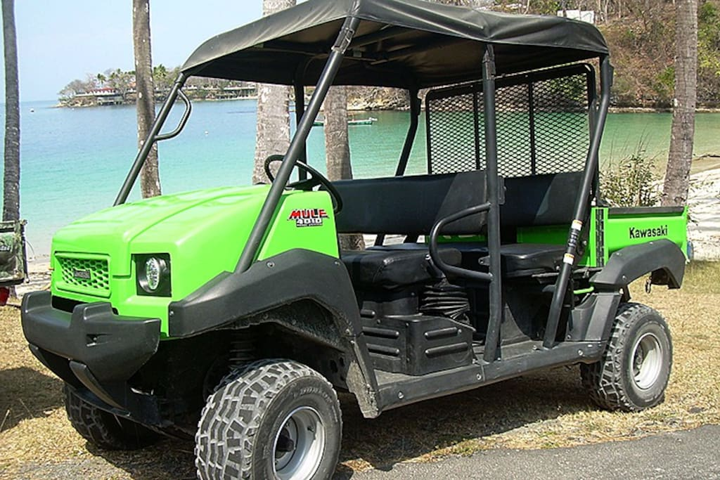 A Big Kawasaki Mule is included in the rate!!!