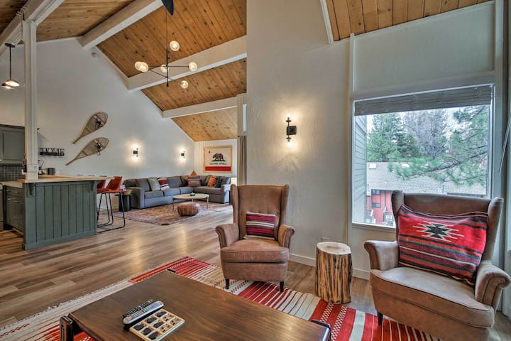 ❄️Steps from ski lift! Remodeled modern ski chalet⛷