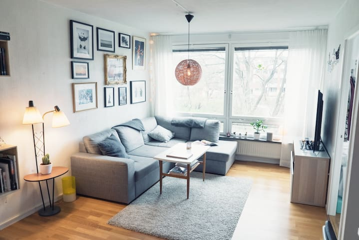 Nicely located flat close to the central area - Göteborg - Appartement