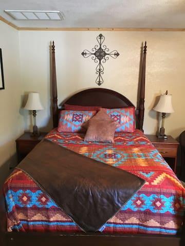 Flying V7 Ranch- Gila Room- Explore Rugged Beauty