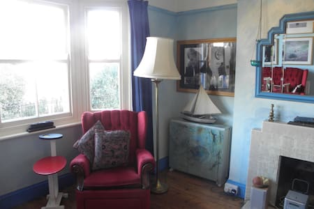 Double room in vegan arty house - Dorset - Casa