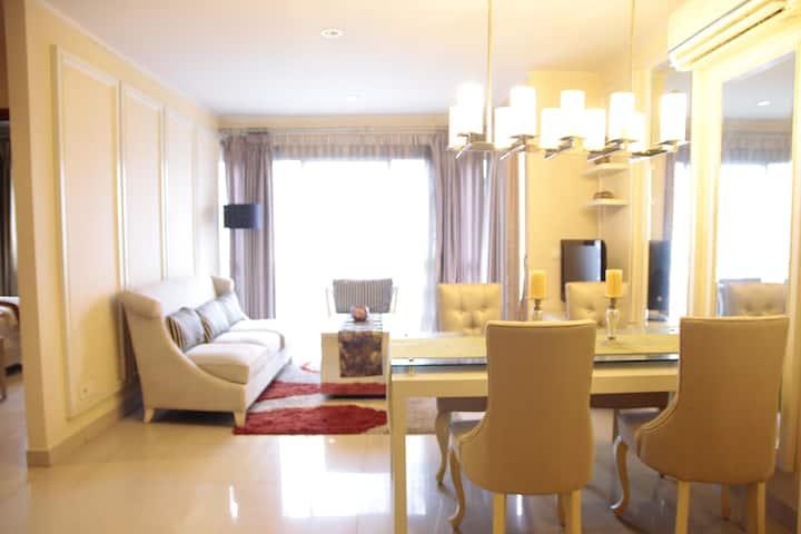 3 BR White Casa (Heart of Jakarta/CBD)