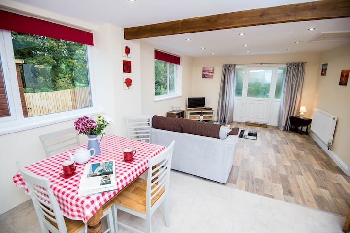 ❤️Modern 1BR Annexe w/ Parking & Large Garden