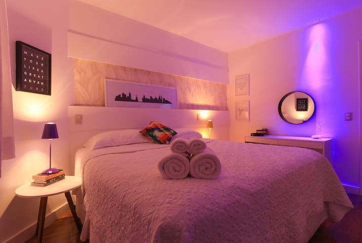 5 ★ Best Confort Design Vila Olimpia Itaim Bibi ★ - San Paolo - Appartamento