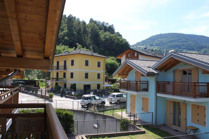 Vista balcone camera