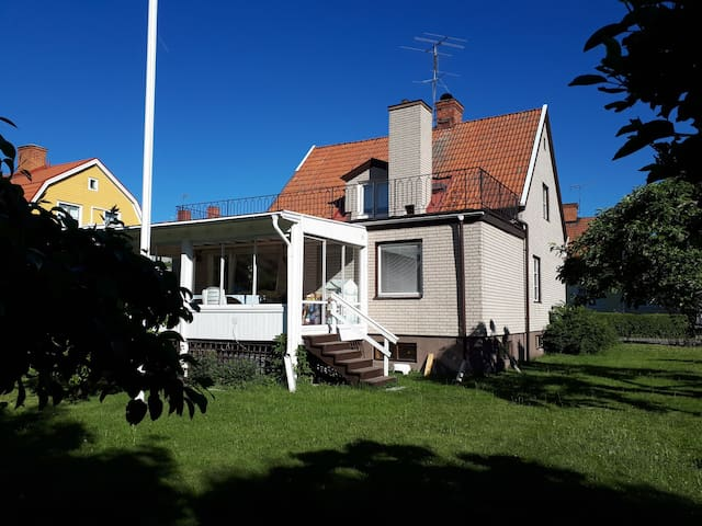 Apartment in house, central in Strängnäs (70m2).