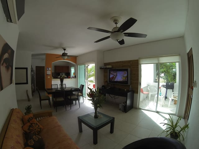 Nice exclusive private room in Playa downtown!!!! - Playa del Carmen - Apartment