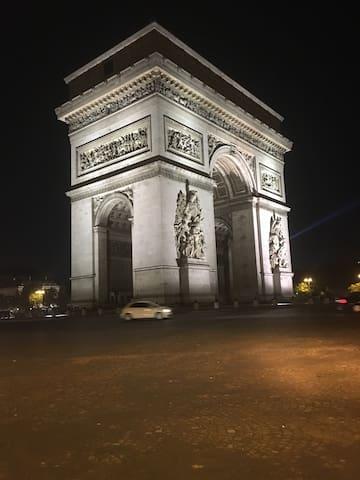 Appartement cosy Champs Elysées - Paris - Apartemen