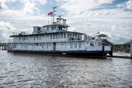Charming Riverboat with Best View! - Biloxi - Boat