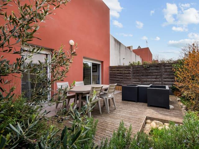 Cosy flat with garden in a modern villa in Malbosc, Montpellier - Welkeys