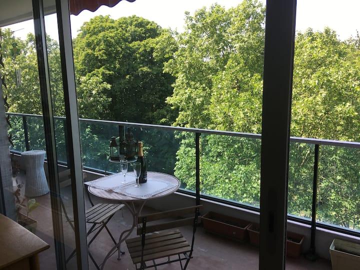 L'appartement dans les arbres