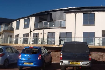 Luxury apartment on Arbroath Harbour