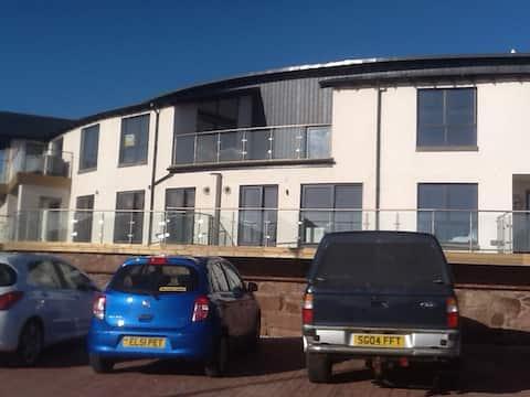 Luxury apartment on Arbroath Harbour