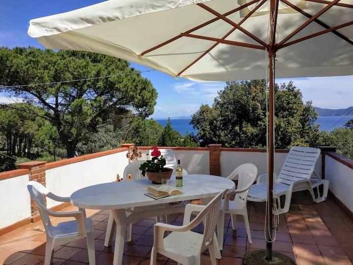 Casa Il Pinolo: 6pax-terrace-garden