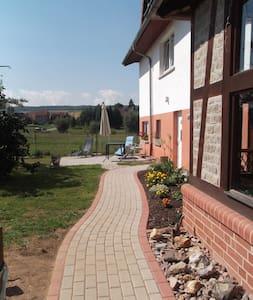 ruhige 100qm Ferienwohnung bei Eisenach, Hainich - Bischofroda