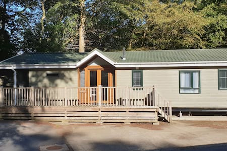 Luxury Lodge set in the foothills of Snowdonia