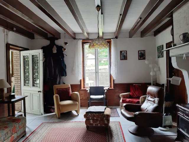 Friendly, old stone farmhouse with character.