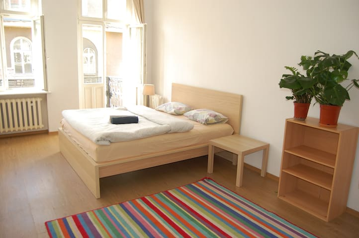 Cozy  Private Double Room with Balcony in OLD TOWN