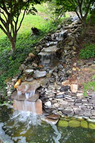 Waterfall near your front door
