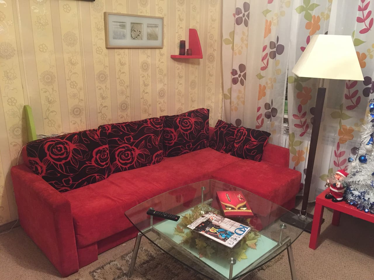 Living-room with sofa