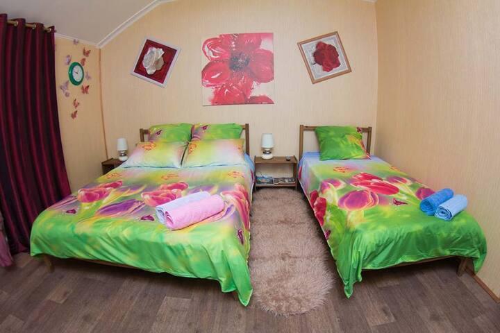 Гостиница с прекрасным видом в Домодедово