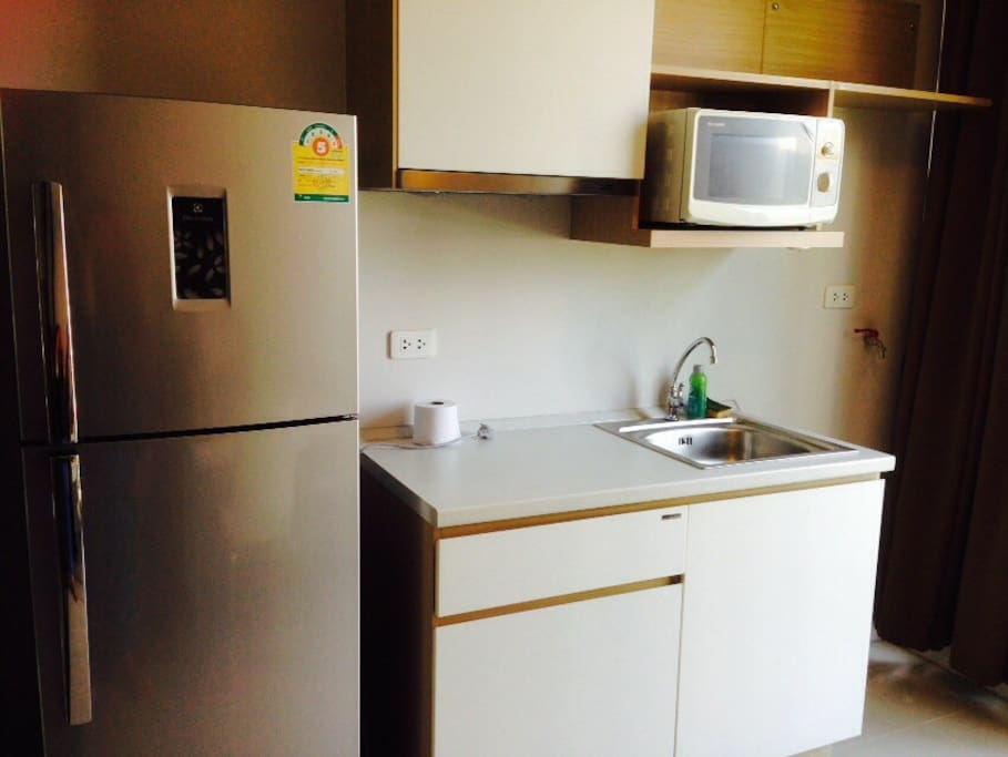 Perfect Kitchen with microwave