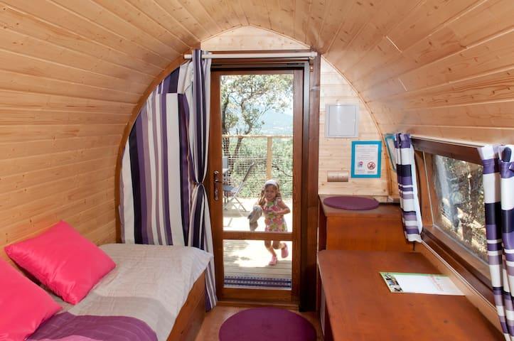 Cabaña en el Árbol - Gargantilla del Lozoya - Cabaña en la naturaleza