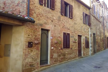 Apartment in the medieval village of Belforte (SI) - Belforte - Radicondoli - Lejlighed