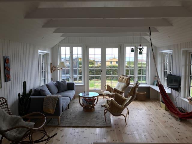 Sommerhus med havudsigt og tæt på badestrand - Hejls - Kabin