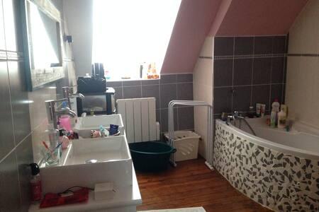 Chambre 30m2, centre Dol de Bretagne - Dol-de-Bretagne - Gästehaus