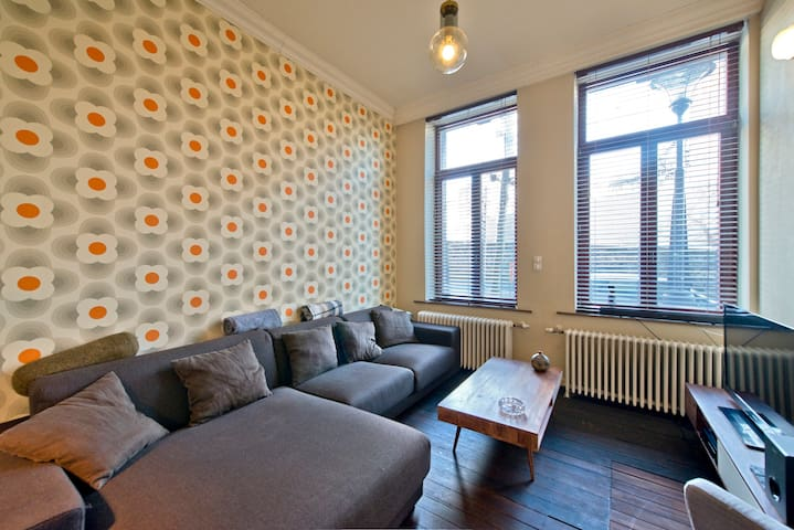 Duplex in city center (100m²) - Liège - Pis