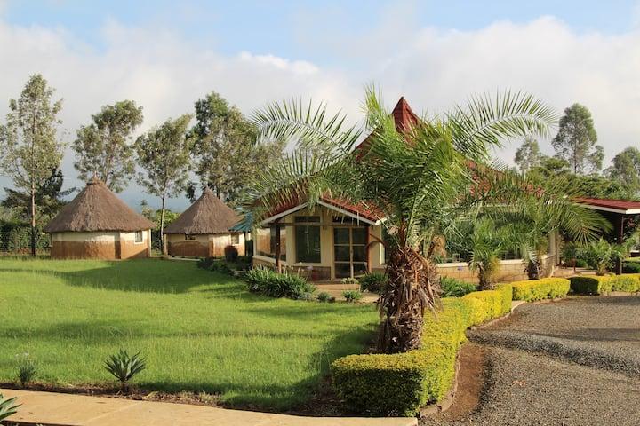 MIA Safari Lodge, African bungalows
