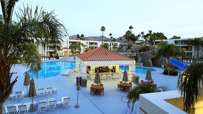 Jr Villa (4) in Palm Canyon Resort. From $149