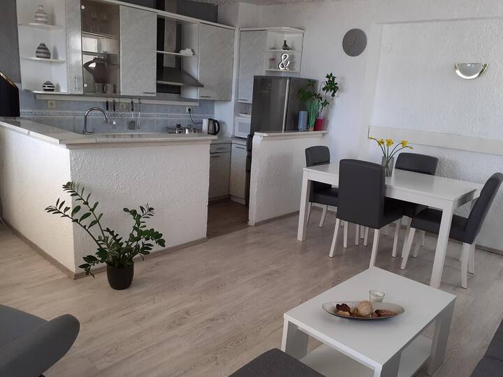 Three bedroom apartment with terrace and sea view Brist, Makarska (A-11039-a)