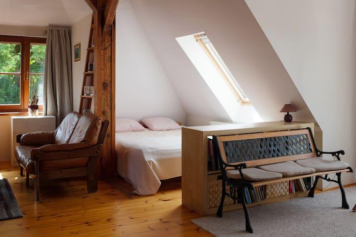 salon sypialnia