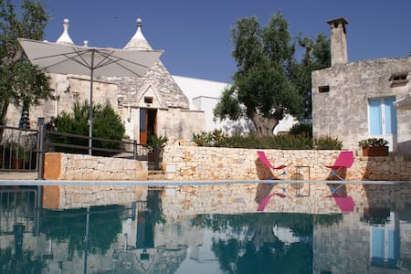 Beautiful Trullo with private infinity pool - Haus