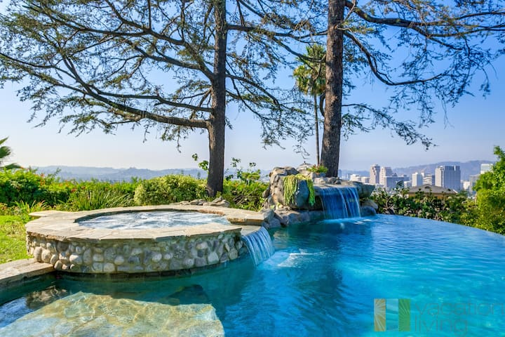 Luxury LA Oasis - Pool - Spa - Views -
