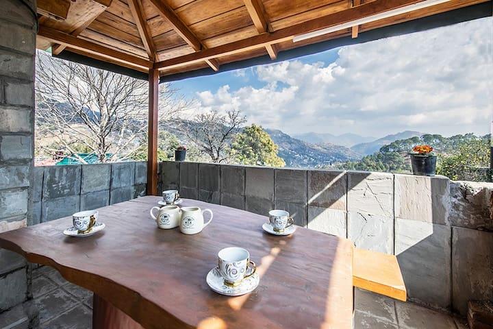 Tea area