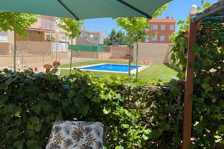 Comfortable Apartment with Large Terrace and Pool