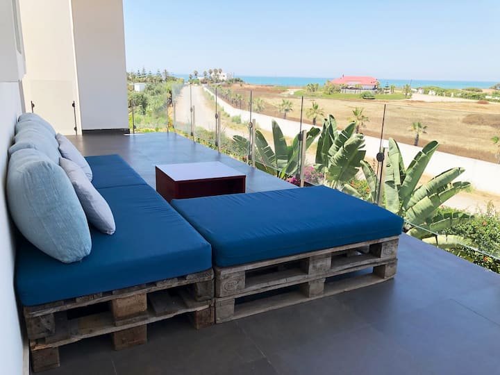 Appartement cosy, Vue sur mer -Eden Island