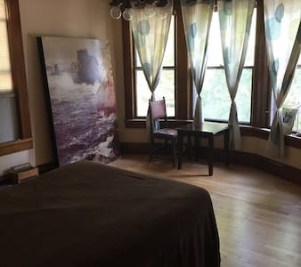 Quiet Private Room Historical Victorian Appleton - Appleton - Hus