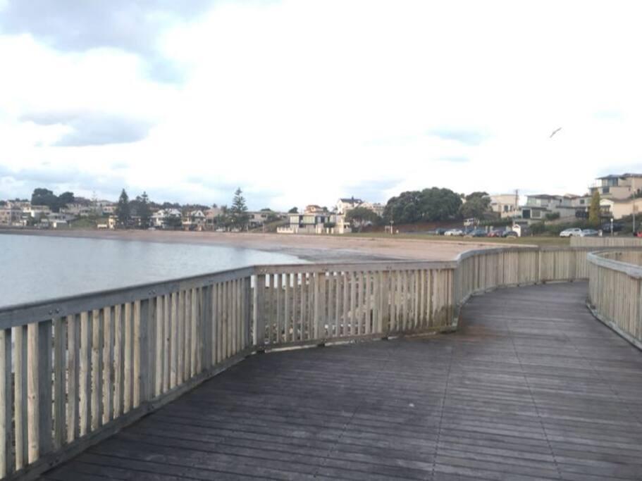 Footpath along beach