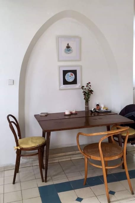 Dining space (one with living room)