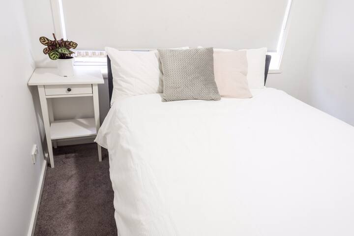 Private stylish bedroom in Coburg North