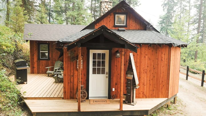 Social-Distance in STYLE! Cabin with Hot Tub!