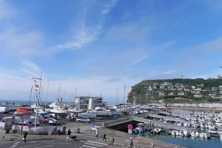 Charmant appartement vue sur la mer et les bateaux - Fécamp - Apartament