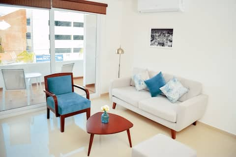 Modern and Stylish flat in Santa Cruz city centre!