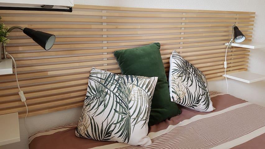 détails de décoration tête de lit
