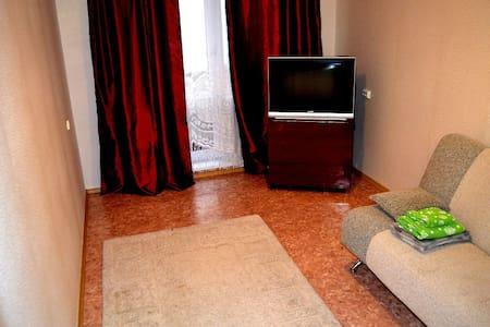 Квартира посуточно недалеко от предмостной площади - Krasnoyarsk