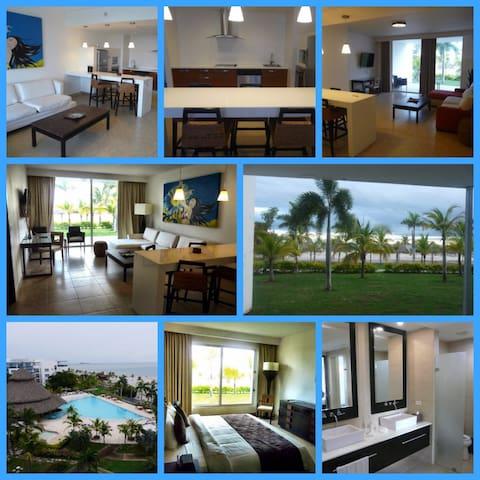 Espectacular apartamento Playa Blanca Panama - Rio Hato - Apartmen perkhidmatan
